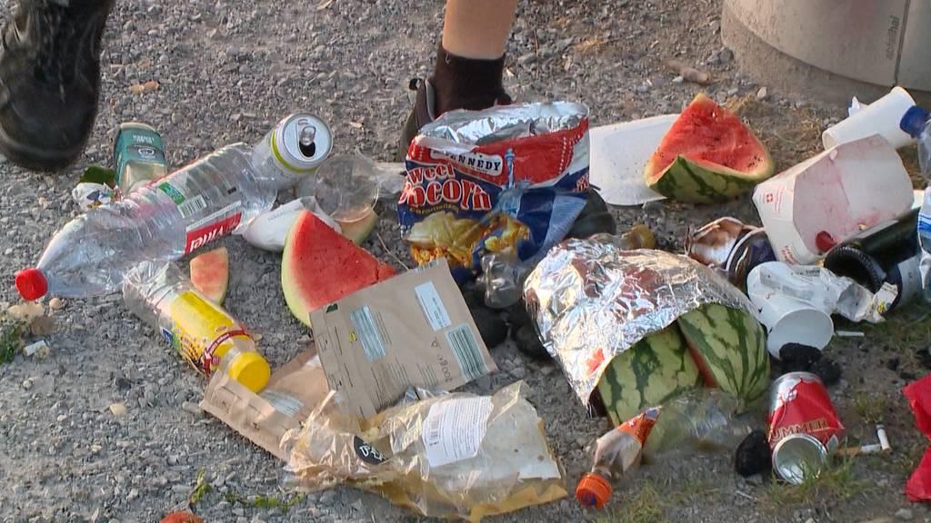 Corona-Sommer verschlimmert Abfallprobleme in den Seegemeinden