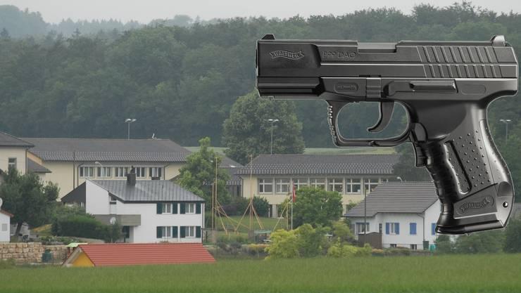 An der Primarschule Bözberg kam es zu einem Vorfall mit einer Softair-Pistole.