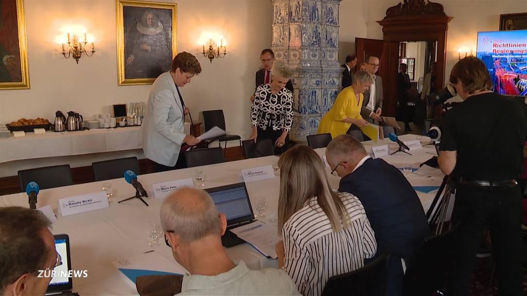 Regierungsrat stellt Legislaturziele 2019 – 2023 vor