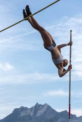 Lea Bachmann will an den Schweizer Meisterschaften in Basel hoch hinaus.