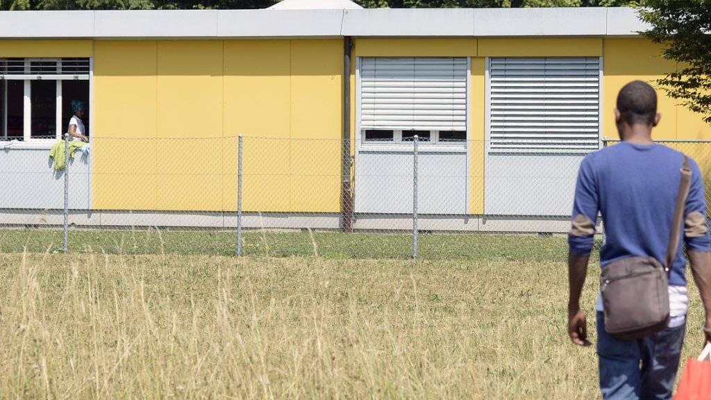 Letzte Station für abgewiesene Asylbewerberinnen und -bewerber: Das Ausreisezentrum in Embrach. (Archiv)