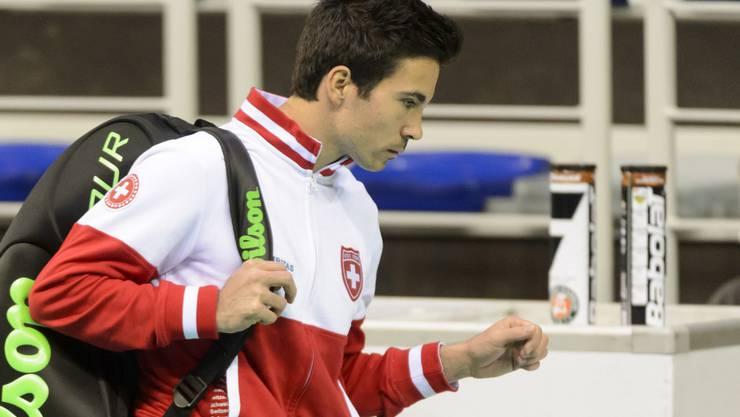 Yann Marti erachtet die Entscheidung von Teamchef Lüthi als ungerecht.