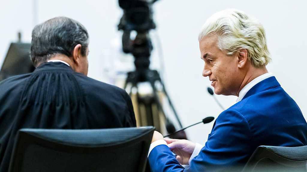 Niederlande: Rechtspopulist Wilders schuldig - aber keine Strafe