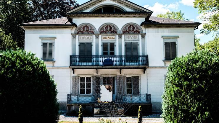 Am Sonntag konnte die Lenzburger Villa Malaga im Rahmen der europäischen Denkmaltage besichtigt werden.