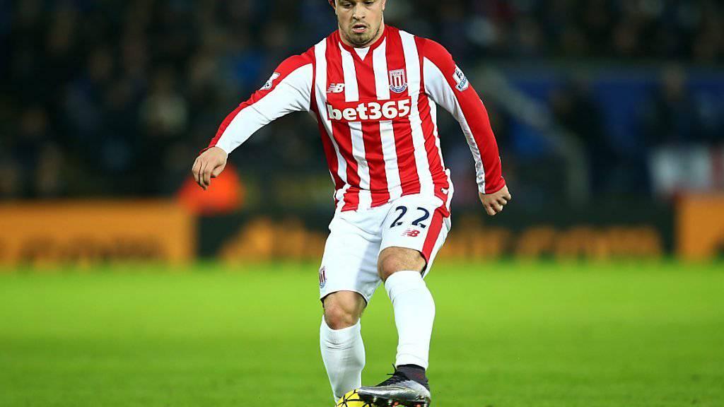 Blamiert sich bei Teileinsatz mit Stoke im Ligacup: Xherdan Shaqiri