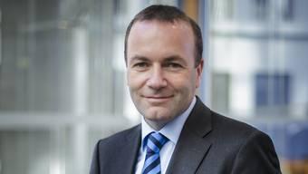 Manfred Weber, Fraktions-Präsident der europäischen Christdemokraten.