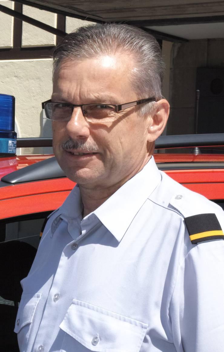 Peter Ruch ist Feuerwehrkommandant