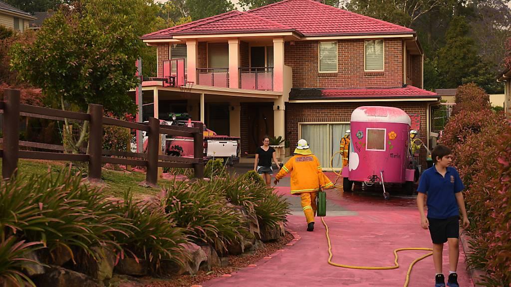 Buschbrände rücken nah an Sydney heran