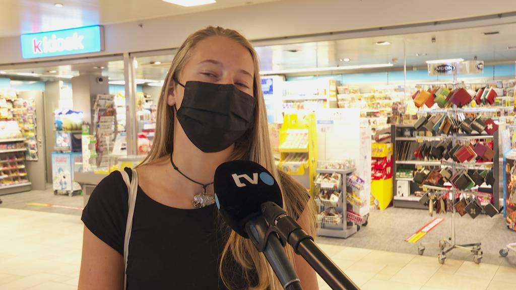 Augenschein im Säntispark: «Bin froh um die Maskenpflicht»