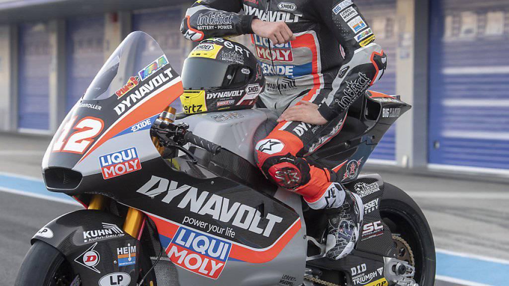 Tom Lüthi startet topmotiviert in die neue Saison, in der er wieder in der Moto2-Klasse antreten wird