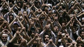 Kundgebung in Sanaa