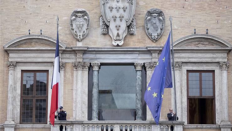 Die Französische Botschaft in Rom: Der Hausherr wurde von der Pariser Regierung zu «Konsultationen» zurückbeordert.