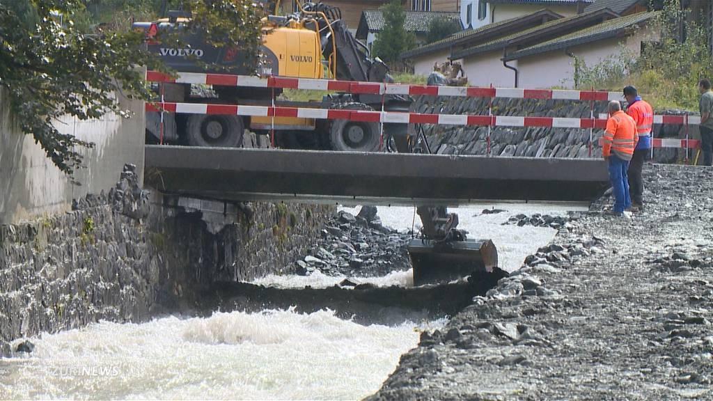 Hochwasserschutz verhindert Desaster im Glarnerland