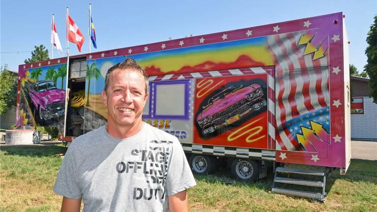 OK-Chef Markus Müller hofft auf eine erfolgreiche Dorfchilbi 2018. Remo Fröhlicher