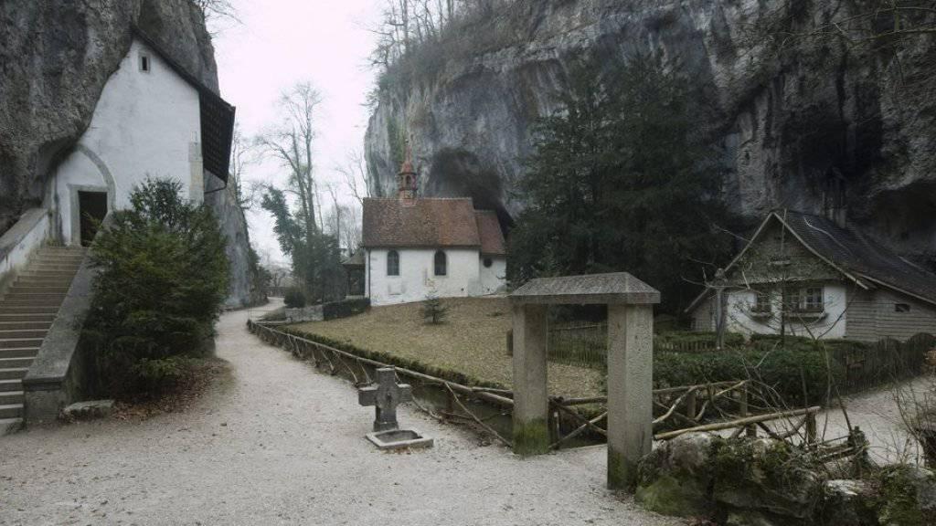 Die Einsiedelei in der Verenaschlucht bei Solothurn bleibt vorerst verwaist (Archivbild).