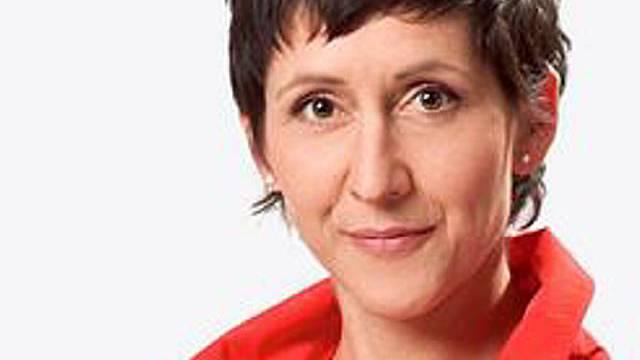 Moderatorin Monika Schärer (Archiv)