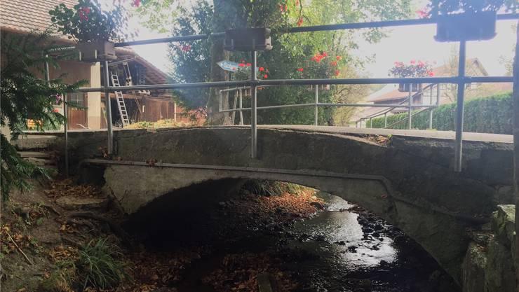 Ein «Pièce de Résistance» ist die Steinbogenbrücke am Mühligässli in Wegenstetten. Über 270 Unterschriften wurden für ihren Erhalt gesammelt. nbo/Archiv