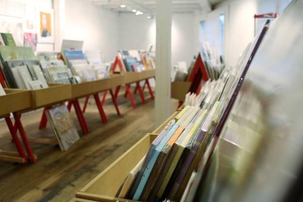 Rund 6000 Kunstwerke stehen heuer zum Verkauf bereit.
