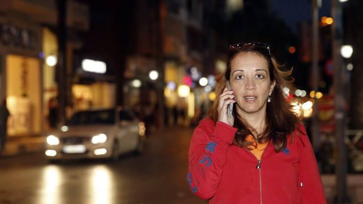 Die niederländische Journalistin Ebru Umar darf nach ihrer Festnahme in der Türkei das Land verlassen und hat dies auch getan. (Archivbild)