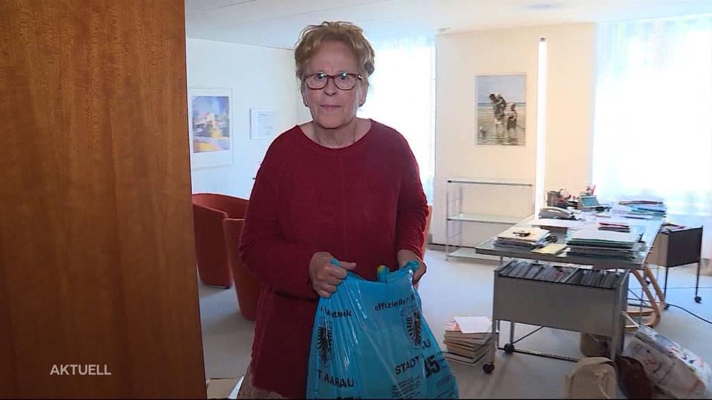 Grossbrand Aarau: Anwohner müssen raus