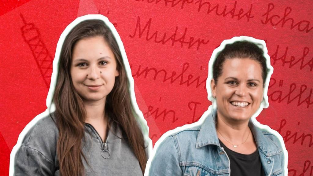 Moderatorinnen Mira und Selina als Husi-Helferinnen