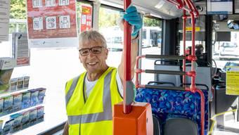 Walter Mayr ist im Auftrag der Busbetrieb Olten Gösgen Gäu AG (BOGG) unterwegs.