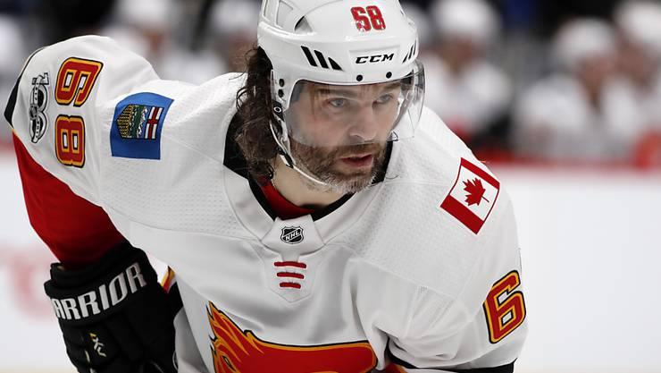 Jaromir Jagr kehrt nach einer langen NHL-Karriere in seine Heimat nach Tschechien zurück
