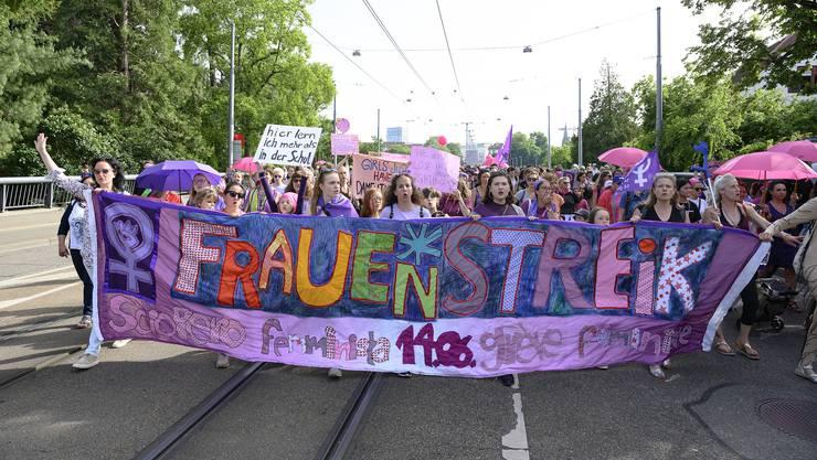 Die links regierte Grossstadt Basel war einer der Hotspots des Frauenstreiks.