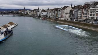Einsprachen gegen Surf-Welle auf dem Rhein
