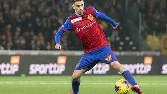 Kommt aus Genk: Der kosovarische Internationale Edon Zhegrova spielt wieder für den FC Basel