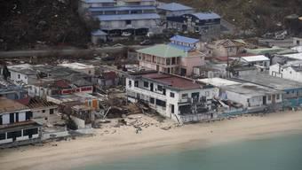Hurrikan Irma auf Saint-Martin