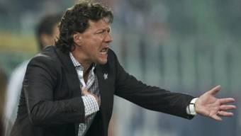 Trainer Jeff Saibene will mit St. Gallen Leader bleiben