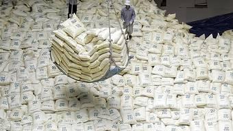 Die USA haben eine Erleichterung der humanitären Hilfe für Nordkorea zugelassen. (Symbolbild)