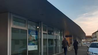Der Quickline-Shop zieht im Mai ins Bahnhofsgebäude.