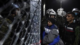 Angespannte Lage an der griechisch-mazedonischen Grenze