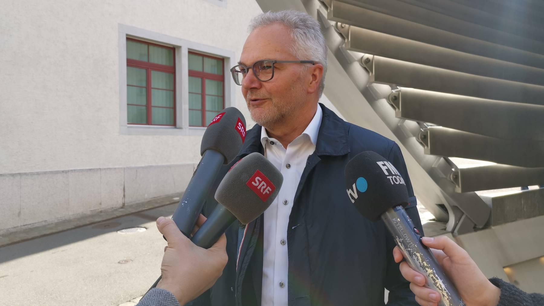 Elmar Metzger, Gemeindepräsident Flawil