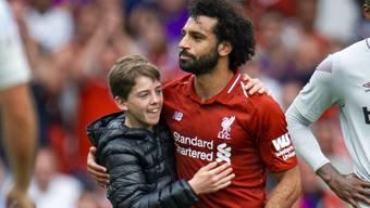 Mo Salah, schon letzte Saison Liverpools Topskorer, eröffnete für Liverpool auch in der neuen Saison das Skore.
