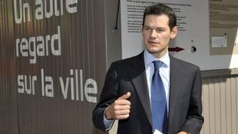 Pierre Maudet, EKKJ-Präsident und Genfer Stadtpräsident (Archiv)