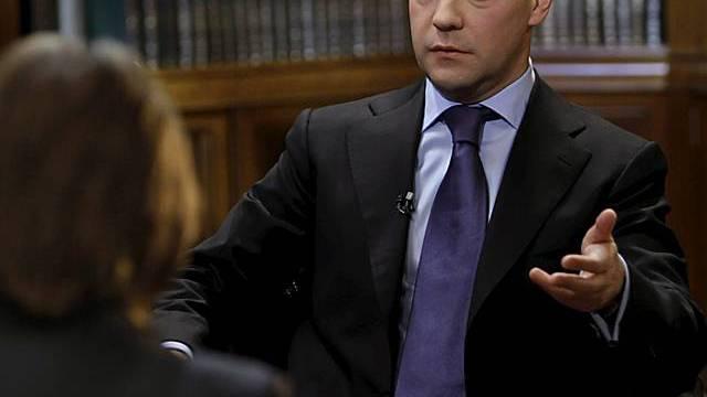 Medwedew beantwortet Fragen (Archiv)