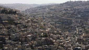 Blick auf Ost-Jerusalems Stadtteil Silwan (Archiv)