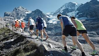 Beim Jungfrau-Marathon geht es auch darum, den inneren Schweinehund zu überwinden. Erlebnis und Spass dürfen den Wettkampf der Leistung willens nicht verdrängen, fordert Swiss Sports Agora.