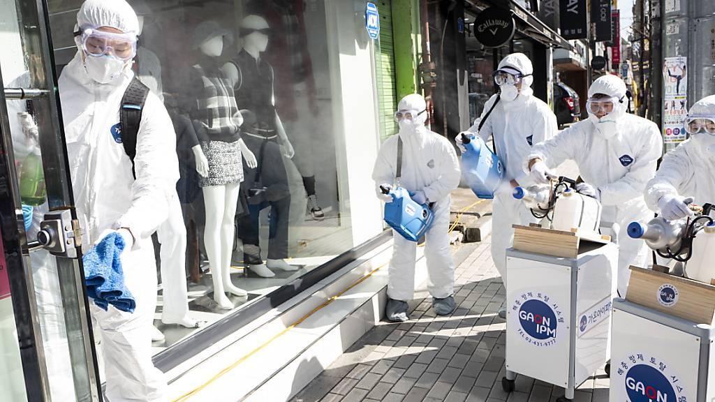 Coronavirus breitet sich in Europa weiter rasant aus