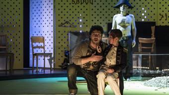 Ein Höhepunkt: Das Theater Biel Solothurn spielt im Kurtheater Benjamin Brittens Oper «Owen Wingrave»