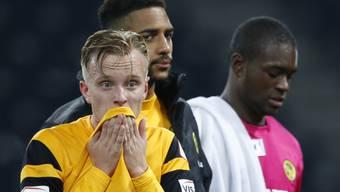 Frust ins Gesicht geschrieben: Florent Hadergjonaj verlor im Cup mit den Young Boys gegen den FC Zürich