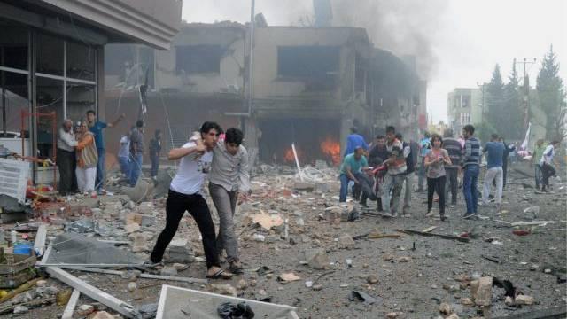 Der Anschlag forderte 40 Tote und viele Verletzte