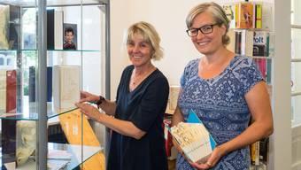 Heidi Brunner und Astrid Christen haben bereits je über 50 Bücher gestaltet.