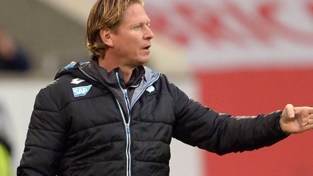 Markus Gisdol ist nicht mehr Trainer in Hoffenheim