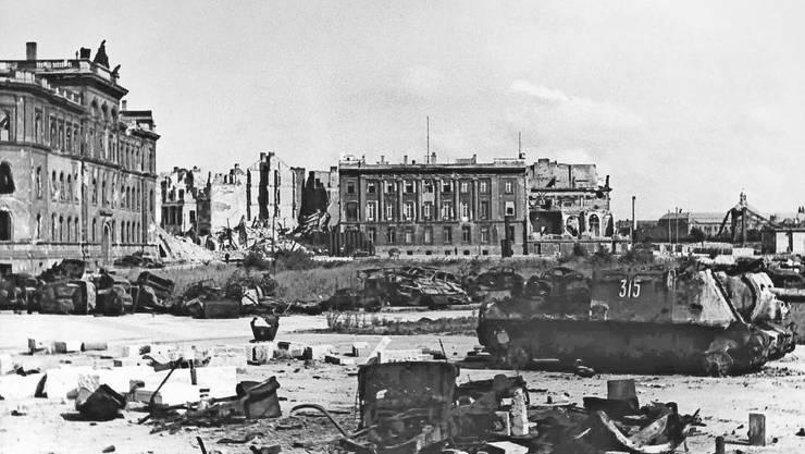 Die Schweizer Botschaft während des Zweiten Weltkriegs.