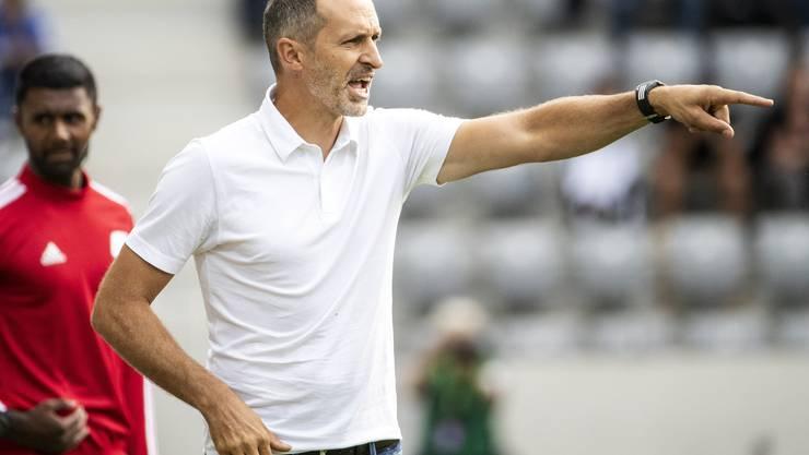 Thomas Häberli, Trainer des FC Luzern.