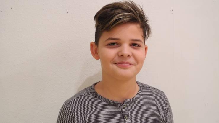 Mit sieben Jahren kam der bald zwölfjährige Joel Wüthrich zum Chor.